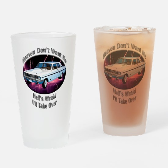 Ford Thunderbolt Drinking Glass