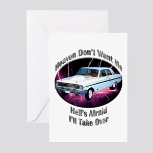 Ford Thunderbolt Greeting Cards (Pk of 20)
