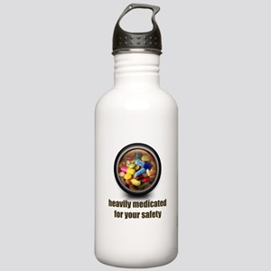 Heavily Medicated Stainless Water Bottle 1.0L