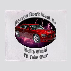 Dodge Charger SRT8 Throw Blanket
