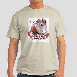 C-ATCH Libby Ash Grey T-Shirt
