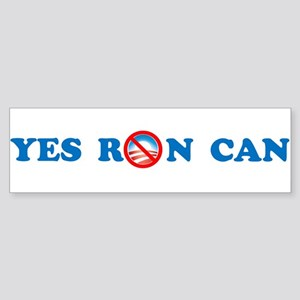 Yes Ron Can Bumper Sticker