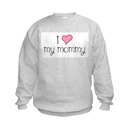 I Heart Mommy Kids Sweatshirt