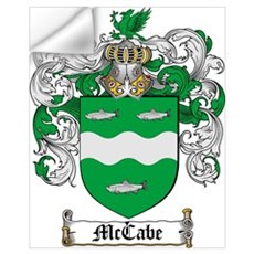 McCabe Family Crest Wall Decal