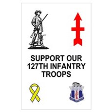 127th Infantry <BR> 1 Poster