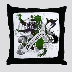 Abercrombie Tartan Lion Throw Pillow