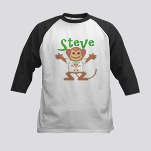 Little Monkey Steve Kids Baseball Jersey