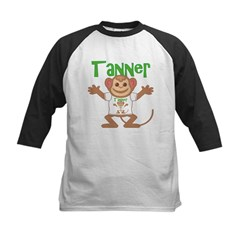 Little Monkey Tanner Kids Baseball Jersey