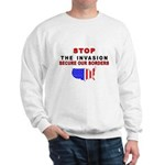 Stop The Invasion Sweatshirt