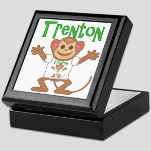 Little Monkey Trenton Keepsake Box