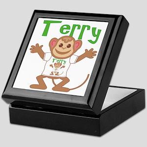 Little Monkey Terry Keepsake Box
