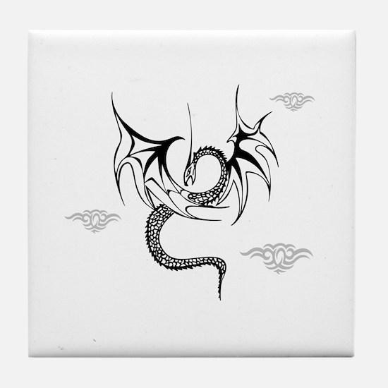 Flying Dragon Tile Coaster