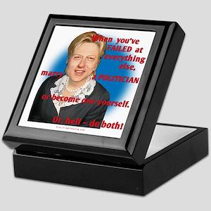 Billary Clinton Keepsake Box