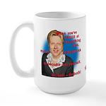 Billary Clinton Large Mug