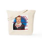 Billary Clinton Tote Bag