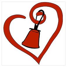 Heartfelt Bell Poster