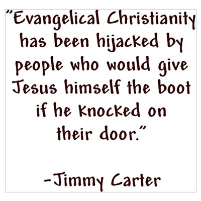 Jimmy Carter Quote Poster
