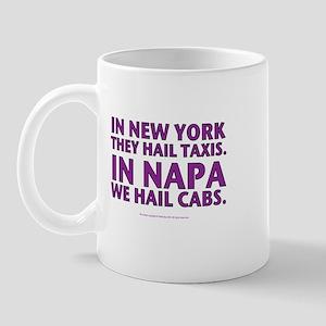 ... Napa, We Hail Cabs Mug