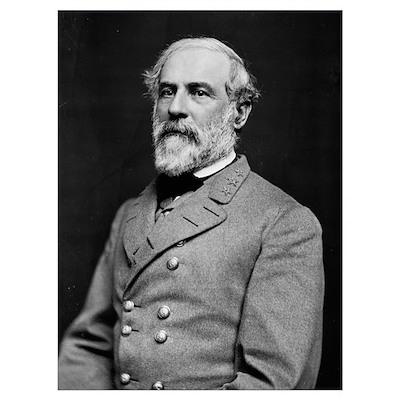 General Robert E Lee 1863 Poster