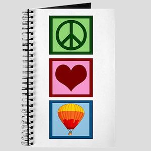 Peace Love Ballooning Journal