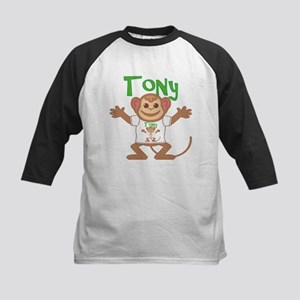 Little Monkey Tony Kids Baseball Jersey