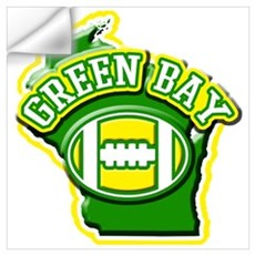 Green Bay Football Wall Decal