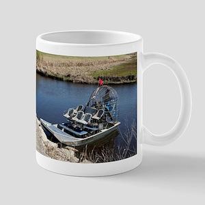 Florida swamp airboat 2 Mugs