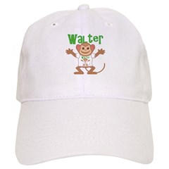 Little Monkey Walter Baseball Cap