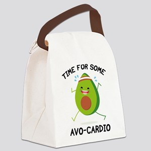 Time For Some Avo-Cardio Canvas Lunch Bag
