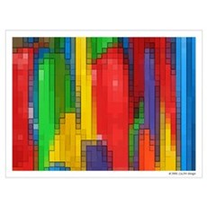 """""""City Abstract"""" Poster"""