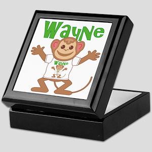 Little Monkey Wayne Keepsake Box