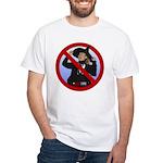 No Hillary White T-Shirt
