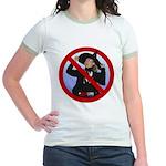 No Hillary Jr. Ringer T-Shirt