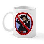 No Hillary Mug