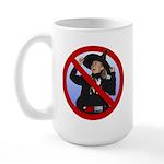 No Hillary Large Mug