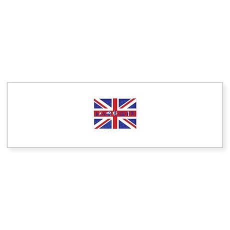Flag UK Sticker (Bumper)
