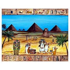 Walk Like An Egyptian Poster