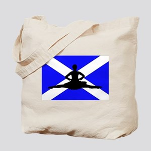 Scotland Leap Tote Bag