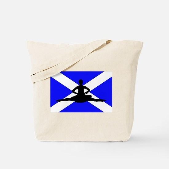 Scotland Leap Tote Bag