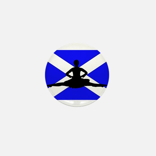 Scotland Leap Mini Button