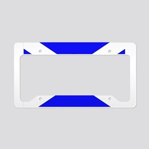 Scotland Leap License Plate Holder