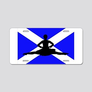Scotland Leap Aluminum License Plate