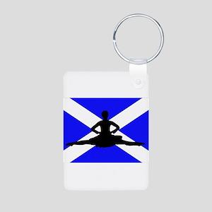 Scotland Leap Aluminum Photo Keychain