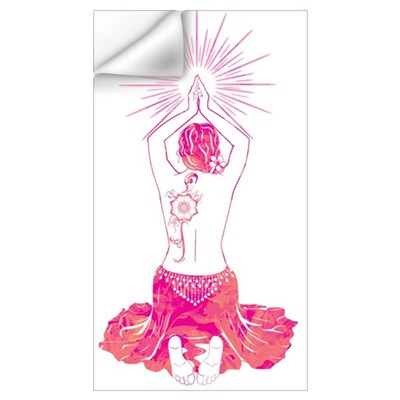 Belly Dance Sunrise Wall Decal