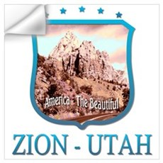 Zion Utah Wall Decal