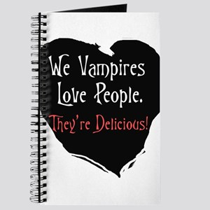 We vampires love people Journal