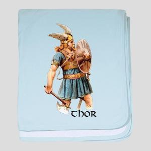 Thor baby blanket