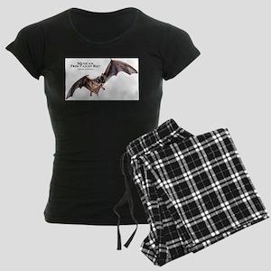 Mexican Free-Tailed Bat Women's Dark Pajamas