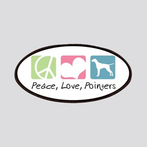 Peace, Love, Pointers Patches