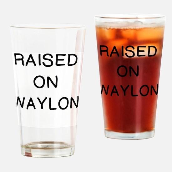 Unique Waylon Drinking Glass